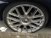 19 inch BMW Alloy Wheels with tyres