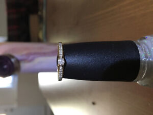 10k diamond engagement ring