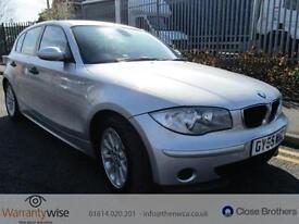 BMW 1 SERIES 118I ES, Silver, Manual, Petrol, 2005 3 FORMER KEEPERS