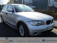 BMW 1 SERIES 118I ES, Silver, Manual, Petrol, 2005 3 FORMER KEEPERS