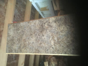 Formica Bar Top - almost 8 ' long ( 7'10)  & 14 inches wide