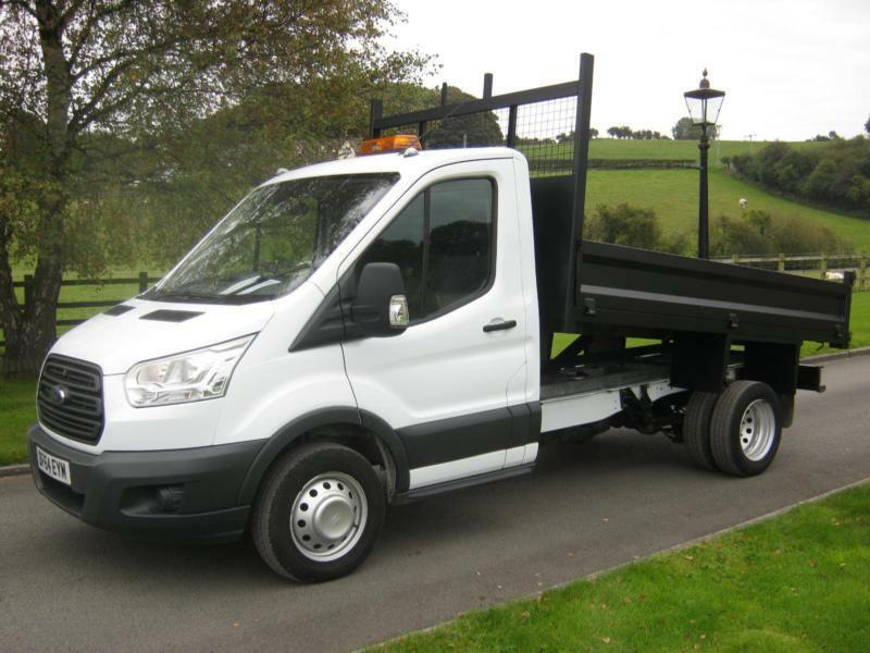 FORD TRANSIT 350 125PS TIPPER 64 REG, 32,400 MILES