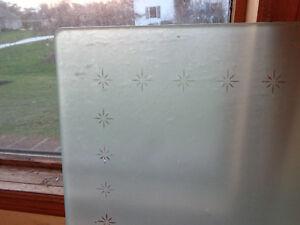 Frosted Glass Top