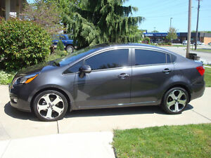 2014 Kia Rio SX Sedan, Low Kilometers, NO Accidents...