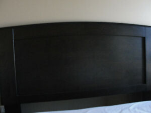 Headboard - Queen -  Dark Brown