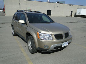 2006 PONTIAC TORRENT WITH E-TEST & SAFETY