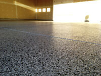 Garage Floor Epoxy and Polyurethane Coatings