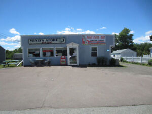 Take out restaurant and convenienc store for sale in Richibucto