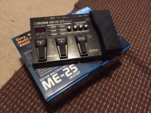 BOSS ME25 processor. MINT USED ONLY ONCE!