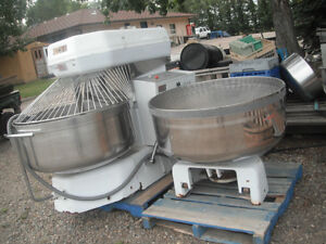 USED Automatic Spiral Mixer with Removeable bowl $8000.00 and extra bowl