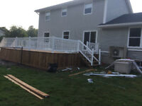 Affordable decks and fences