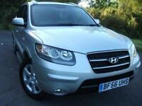 2006 56 HYUNDAI SANTA FE 2.2 CDX PLUS CRTD 5D 148 BHP ** 7 SEATS , FULL LEATHER
