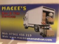 Macee's Man & Van services