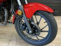 Honda CB125 naked commuter