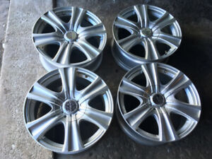 4 MAGS 18'' BP 5x114/ 5x127 HONDA JEEP FORD DODGE TOYOTA NISSAN
