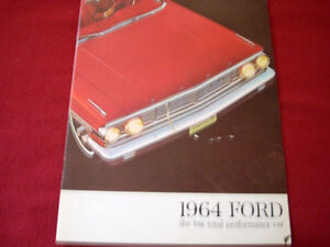 1964 Ford sales brochure