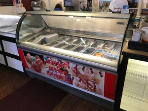 Soft serve & gelato machines, freezers and freezers