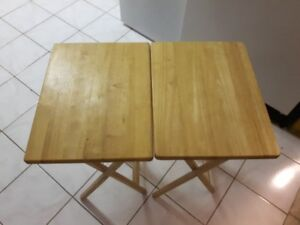 TV Trays (2) - great condition