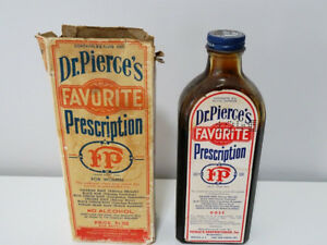 1800s FOR WEAK WOMEN Dr Pierce's FAVORITE PRESCRIPTION BOTTLE