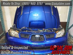JDM Subaru Impreza Sedan V9 WRX Bumper Headlights Fenders Hood