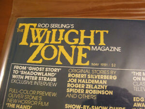 Twilight Zone Magazines Stratford Kitchener Area image 1