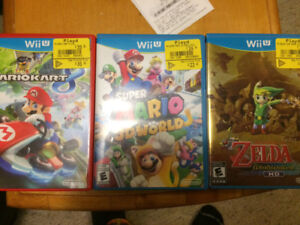 Wii U plus pro controller and games