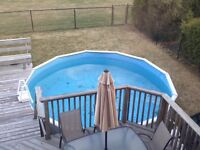 **PRICE REDUCED TO SELL - Above Ground Pool