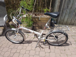 Vintage Folding bike!!! Made in Canada!!!