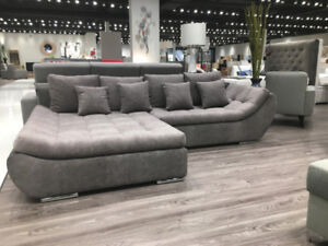 SECTIONAL HUGO - SOFABED W/STORAGE - MADE IN EUROPE