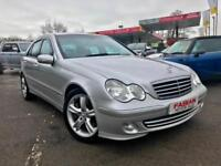 Mercedes-Benz C220cdi Auto Avantgarde *Leather - Only 70,000 - Service History*