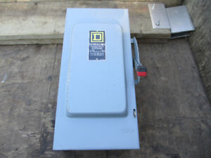 100 amp Square D Disconnect Electric Box