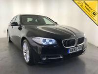 2013 BMW 518D SE DIESEL SAT NAV 1 OWNER BMW SERVICE HISTORY LEATHER INTERIOR