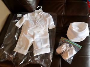 Boy baptismal outfit 6-9months