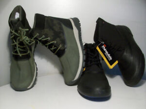 NEW WATER RESiSTANT BOOTS FULL-FUR iNSULATiON SiZE 9