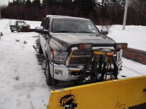 2012Ram 2500 Laramie 6.7 Diesel HD with 8 ft. Plow & BullyDog...