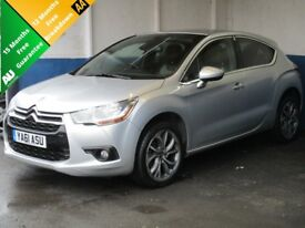 Citroen DS4 DStyle HDi 110 (silver) 2012