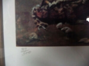 "Hand Signed, Titled by Listed Artist Tammy Laye ""Pup And Toad"" Stratford Kitchener Area image 6"