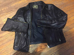 Woman's Biker Leather jacket for sale!