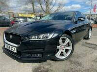 2015 65 JAGUAR XE 2.0 PORTFOLIO 4D 178 BHP DIESEL- 1 OWNER +2 KEYS+MEDIA+BLACK+