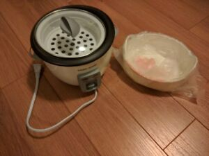 Black & Decker Electric Rice Cooker--NEVER USED