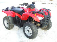 ***** 2009 Honda TRX420PG Canadian Trail Edition ******