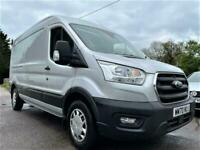 2021 FORD TRANSIT 2.0 EcoBlue 130ps H2 Trend Van + NEW SHAPE + ONLY 2K + EURO 6