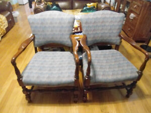 Two antique Chairs   Asking Price 200.00 for set.