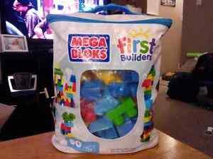 MEGA BLOKS (first builders 1-5yrs)