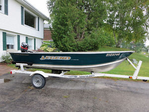 Legend Fishing Boat and Trailer