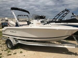 2017 Robalo R160 W/ 75hp