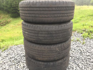 Four Michelin 195/65R15 Summer Tires Excellent Tread