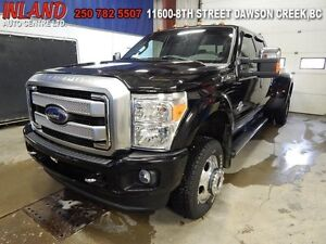 2016 Ford F-350 Lariat  Auto,Crew Cab,Nav,Leather,Diesel,Running