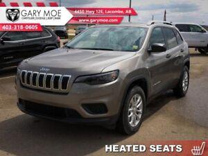 2019 Jeep Cherokee Sport   -V6 - 4x4 - Heated Seats