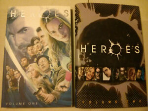 Heroes (Tv show) volume 1 and 2 comic / TPB / graphic novel lot
